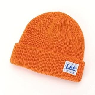 フリークスストア(FREAK'S STORE)のLee Freak's Store ニット帽 ニットキャップ ビーニー オレンジ(ニット帽/ビーニー)