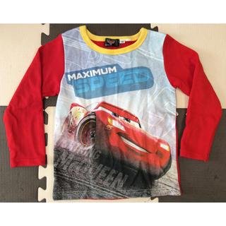 ディズニー(Disney)の【カフェ様専用】カーズ 長袖Tシャツ 110(Tシャツ/カットソー)