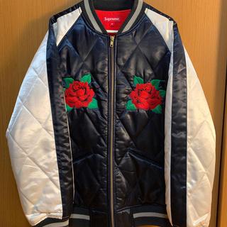 Supreme - supreme  Quilted Satin Bomber jacket