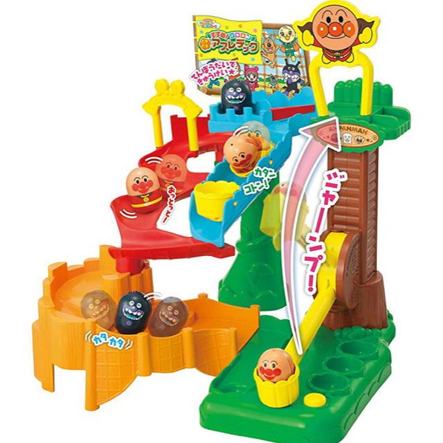 アンパンマン(アンパンマン)の【新品】アンパンマン それいけ!コロロンパーク すすめ! どきどきアスレチック キッズ/ベビー/マタニティのおもちゃ(知育玩具)の商品写真