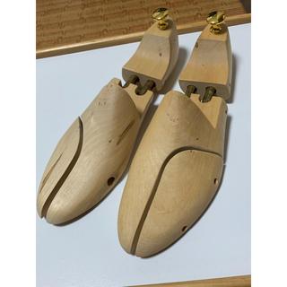 REGAL - 【Lサイズ 43  UK9】スコッチグレイン純正シューツリー(バネ式)紳士靴用