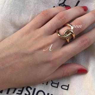 TODAYFUL - Blaue Ring プレーテッドリング  セリーヌ