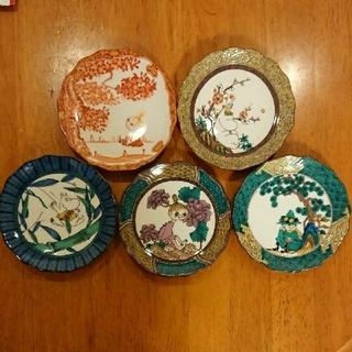 ムーミン 九谷焼 小皿5枚セット