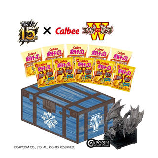 CAPCOM - アマゾン限定 カルビー モンスターハンター15周年記念スペシャルBOX