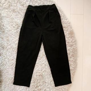 グレイル(GRL)のGRL グレイル パンツ ブラック M カジュアルパンツ 新品未使用(カジュアルパンツ)