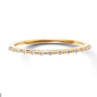BLOOM - 新品 BLOOM ブルーム K10 イエローゴールド ダイヤモンドリング