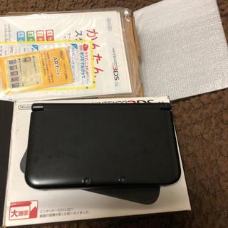 ニンテンドー3DS - ニンテンドー3DS LL ブラック 箱付き