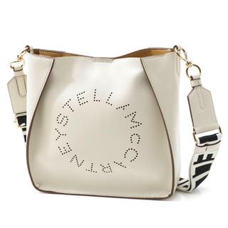 Stella McCartney - ステラマッカートニー ショルダーバッグ ホワイト ロゴ