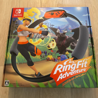 ニンテンドースイッチ(Nintendo Switch)のリングフィットアドベンチャー 新品 未開封 即発送 スイッチ(家庭用ゲームソフト)