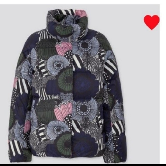UNIQLO(ユニクロ)の海外限定発売   日本未入荷  marimekko × UNIQLO コラボ   レディースのジャケット/アウター(ダウンジャケット)の商品写真