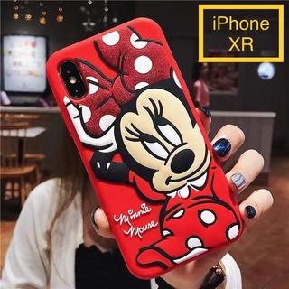 Disney - iPhone XR用☆ディズニー☆ミニー☆かわいい3Dスマホカバー