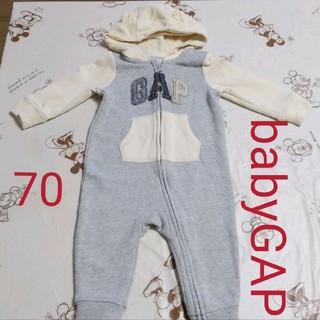 babyGAP - babyGAP ロンパース カバーオール