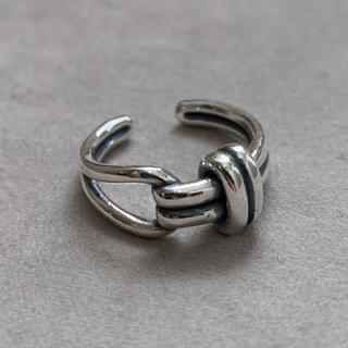 シルバー925 ベルトデザインリング 結び目 シルバー silver925(リング(指輪))