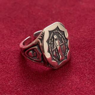 シルバー925 マリアメダイカレッジリング silver925(リング(指輪))