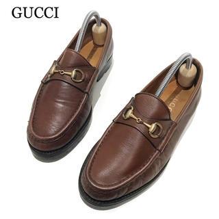 Gucci - 【GUCCI】約23.5cm ホースビット ローファー モカシン レディース