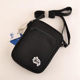 STUSSY - ステューシーSTUSSYユニセックス 黒 メッセンジャーバッグ ミニショルダー