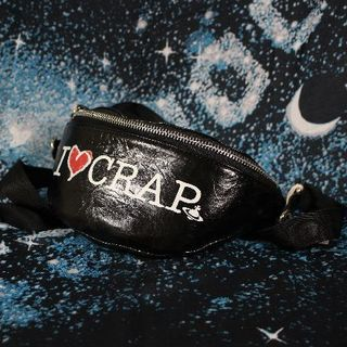 Vivienne Westwood - 19/20aw 「I LOVE CRAP」シリーズ ボディバッグ