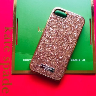 kate spade new york - iPhone7/8 ローズゴールド ケイトスペード 箱無し グリッター