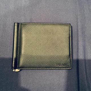 プラダ(PRADA)のPRADA プラダ 折り財布 マネークリップ(折り財布)