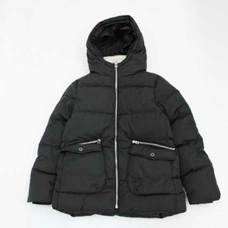 ZARA - ZARA girls ダウンジャケット コート ブラック