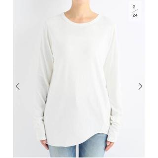 DEUXIEME CLASSE - deuxieme classe  Layering Tシャツ ロンT 新品 白