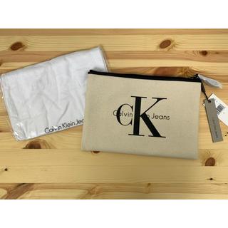 カルバンクライン(Calvin Klein)の未使用 カルバンクライン ロゴ クラッチバッグ(セカンドバッグ/クラッチバッグ)