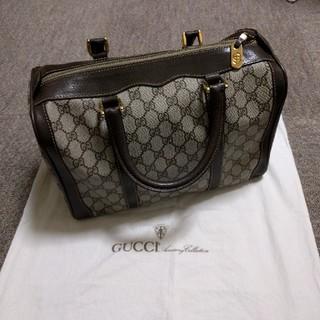 Gucci - オールドグッチ ボストンバッグ 未使用