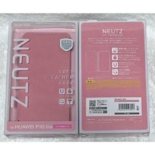 エレコム(ELECOM)のHUAWEI P30 lite ソフトレザー 薄型ピンク 957(Androidケース)