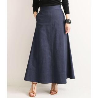 IENA - 【新品未使用】VERMEL par iena デニムロングスカート サイズ36