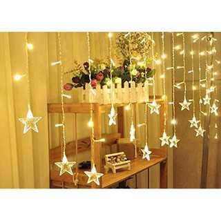妖精のライト☆星型イルミネーション カーテンライト