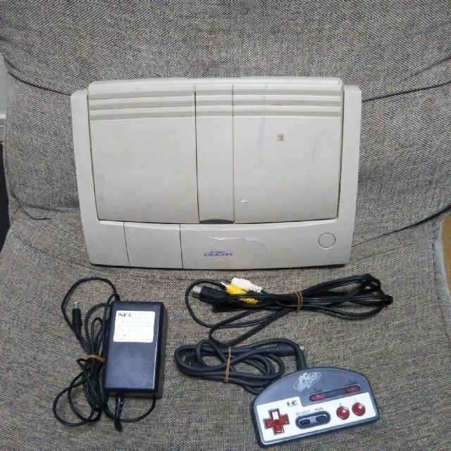 NEC(エヌイーシー)のpcエンジン DUO-R エンタメ/ホビーのゲームソフト/ゲーム機本体(家庭用ゲーム機本体)の商品写真