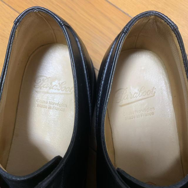 Paraboot(パラブーツ)のパラブーツ シャンボード 黒色 6.5 メンズの靴/シューズ(ドレス/ビジネス)の商品写真