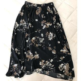 プラージュ(Plage)のplage 花柄スカート(ロングスカート)