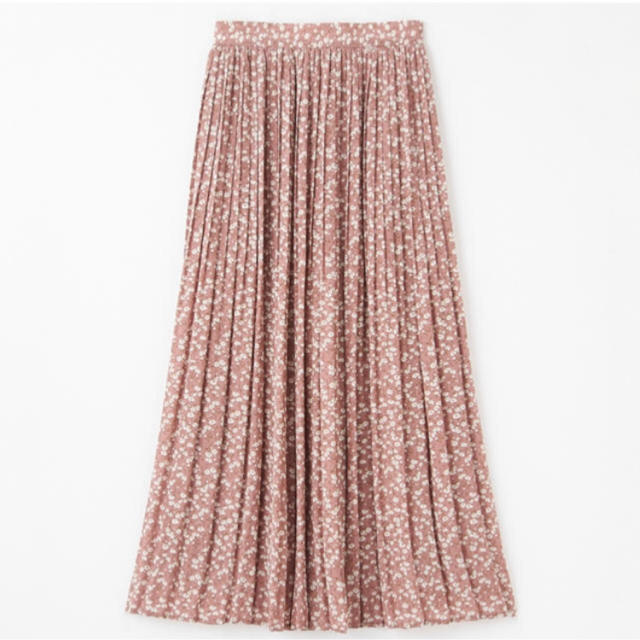 しまむら(シマムラ)のしまむら Mサイズ プチプラのあや ハミングローブ 小花柄シフォンスカート  レディースのスカート(ロングスカート)の商品写真