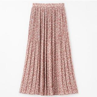 しまむら - しまむら Mサイズ プチプラのあや ハミングローブ 花柄スカート