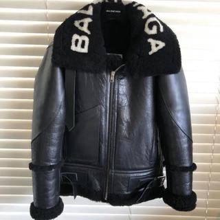 Balenciaga - 早い者勝ち BALENCIAGA  ムートン ライダース