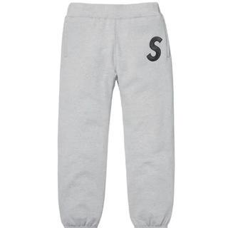 Supreme - Supreme S Logo Sweatpant Grey pant