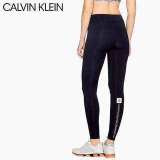 Calvin Klein - カルバンクライン レギンス スパッツ タイツ スポーツ ロゴ 紺 S CK