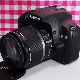 Canon - ★ たくさん思い出を作ろう★Canon kiss x3 レンズキット・付属品多数