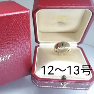 カルティエ(Cartier)のCartier カルティエ 750 イエローゴールドバネリング12~13号@vr(リング(指輪))