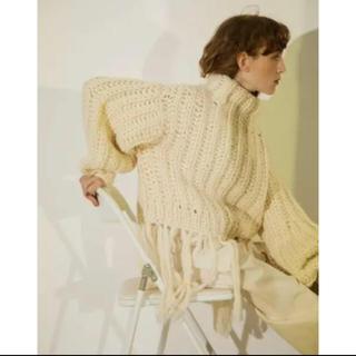 BEAUTY&YOUTH UNITED ARROWS - leinwande egg knit