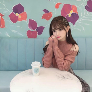 Lily Brown - リリーブラウン ニット ピンク