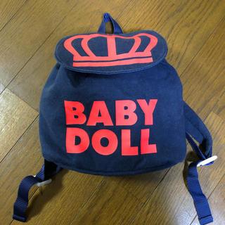ベビードール(BABYDOLL)のベビーリュック baby doll(リュックサック)