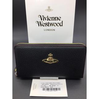 Vivienne Westwood - Vivienne ヴィヴィアンウエストウッド 長財布 黒 新品 ブラック 338