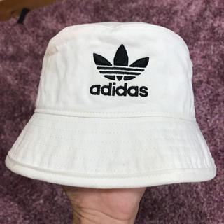 adidas - アディダス adidas バケットハット ホワイト