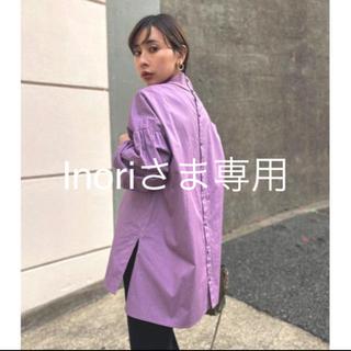 Ameri VINTAGE - Ameri新品タグ付き完売シャツブラウスPUFFER SLEEVE TOP