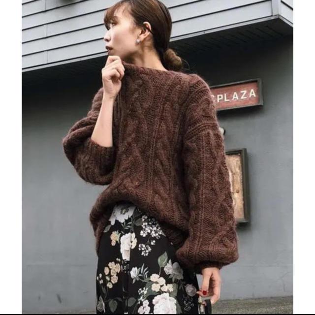 Ameri VINTAGE(アメリヴィンテージ)のAmeri  MOHAIR BIG KNIT 美品 レディースのトップス(ニット/セーター)の商品写真