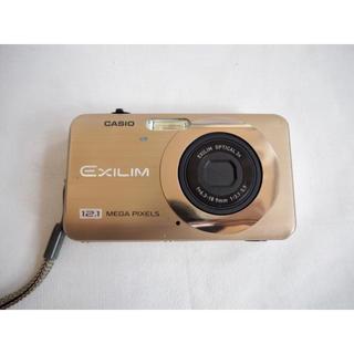 カシオ(CASIO)の【CASIO】液晶デジタルカメラ ゴールド EX-Z90(コンパクトデジタルカメラ)