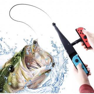 Nintendo Switch - Switch 釣りスピリッツ対応 釣竿 ジョイコン用 釣りロッド 釣り竿