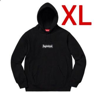 Supreme - XL supreme Bandana Box Logo パーカー ブラック